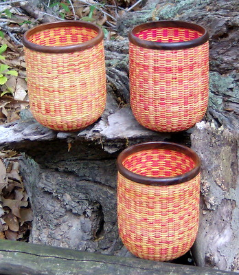 Basket weaved with Carnival Outside View