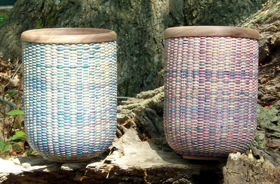 Electric Blue Baskets