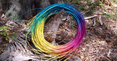 Rainbow Space Dyed Reed